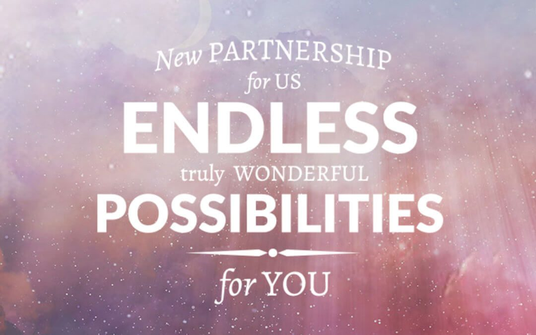 New Partnership for us – endless possibilities for you!