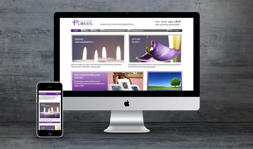 William Purves website