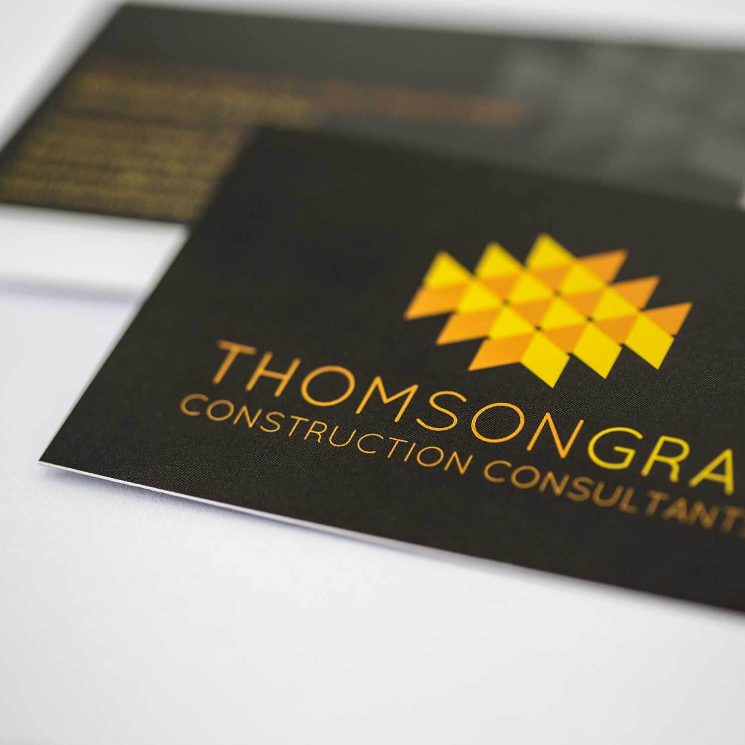 Brand stationery for construction industry marketing