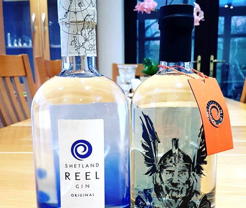 Celebrating Up Helly Aa with Shetland Gin Distillery