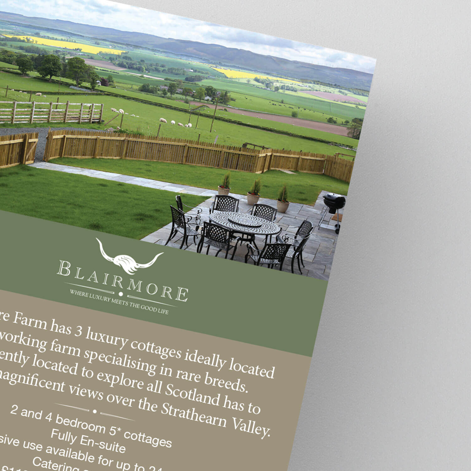 blairmore catalogue showing a lawn