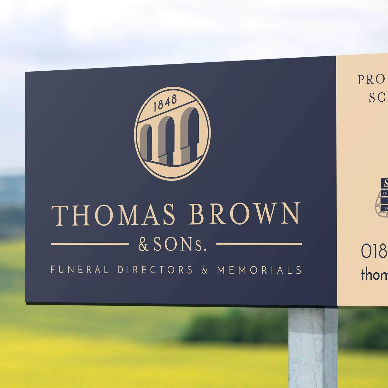 thomas brown sign board