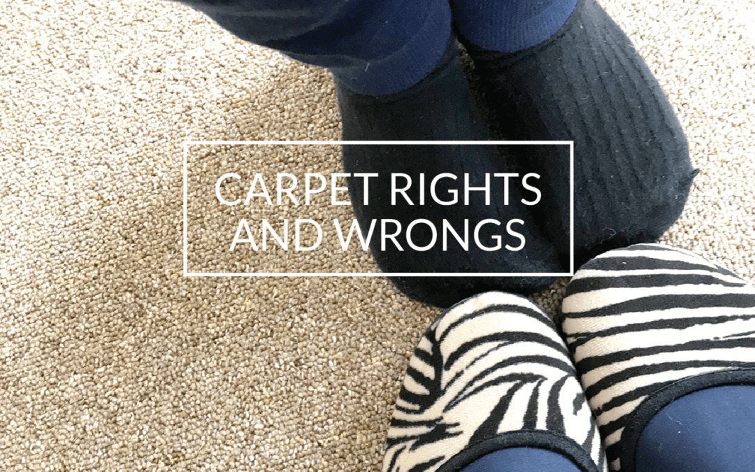 Carpet rights and wrongs – customer experience makes a huge difference