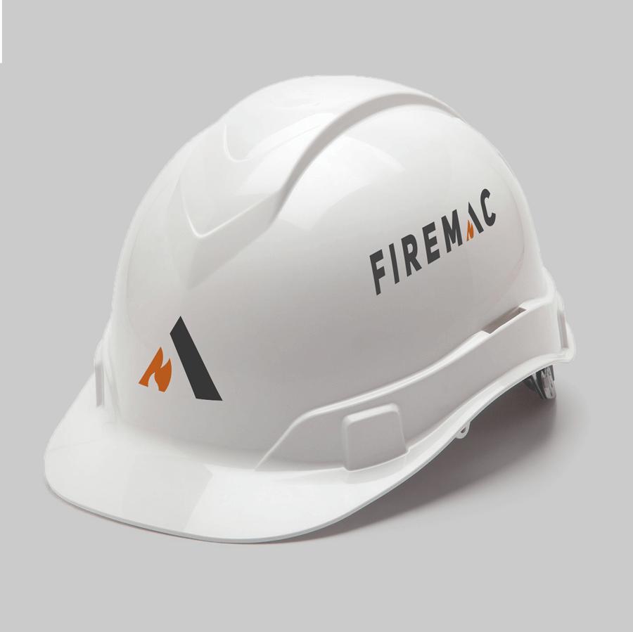Firemac hard hat