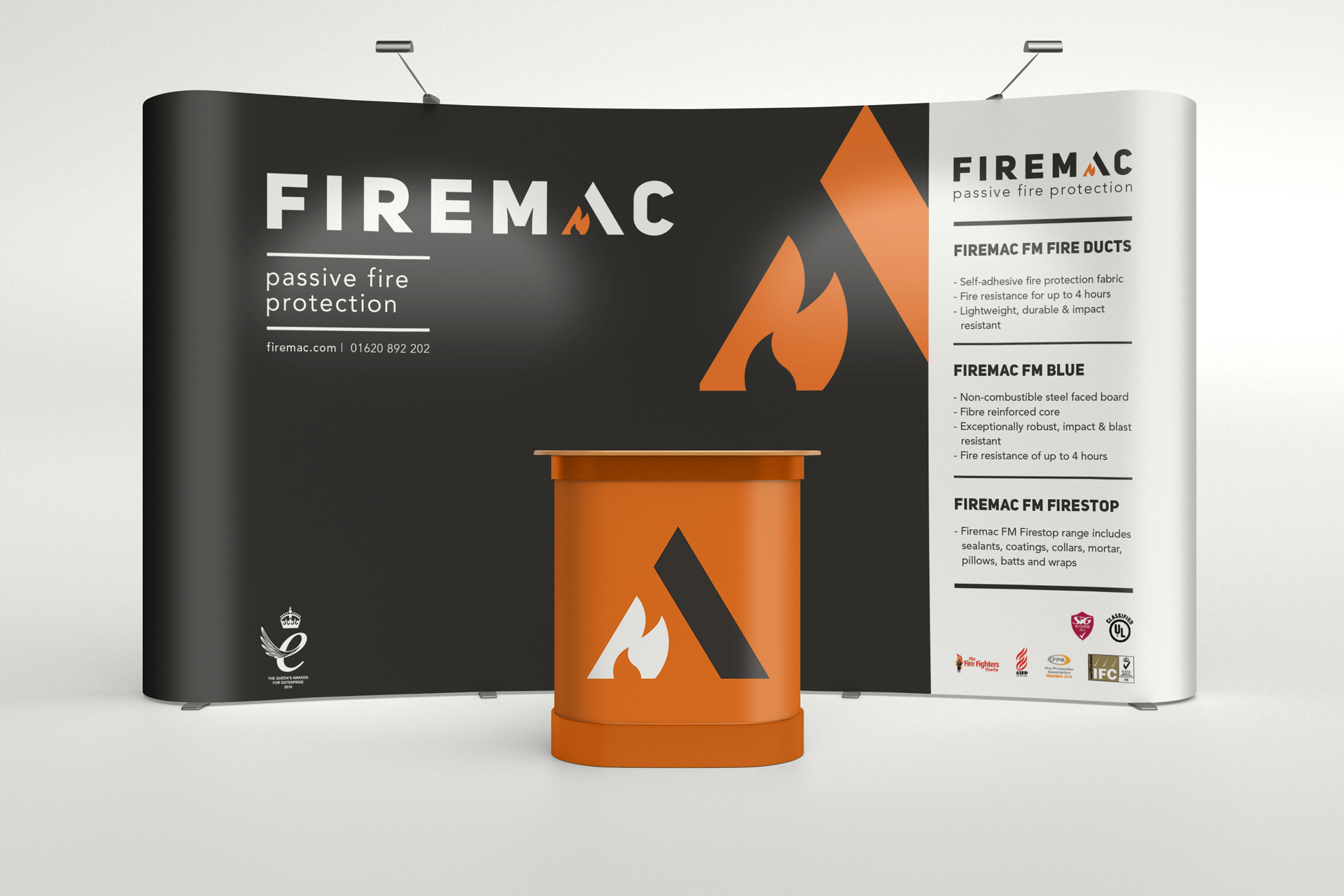 Firemac fire protection banner